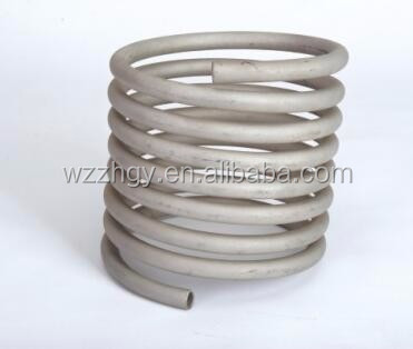 mill u bending shaped pipe coil stainless steel heat exchanger tube price per meter hot sale