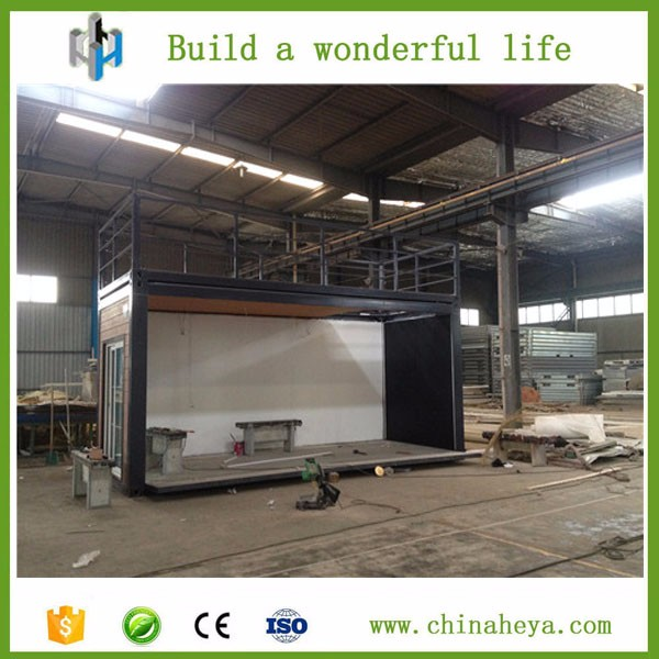 HEYA INT'L frame steel structure good space utilization glass wall container house