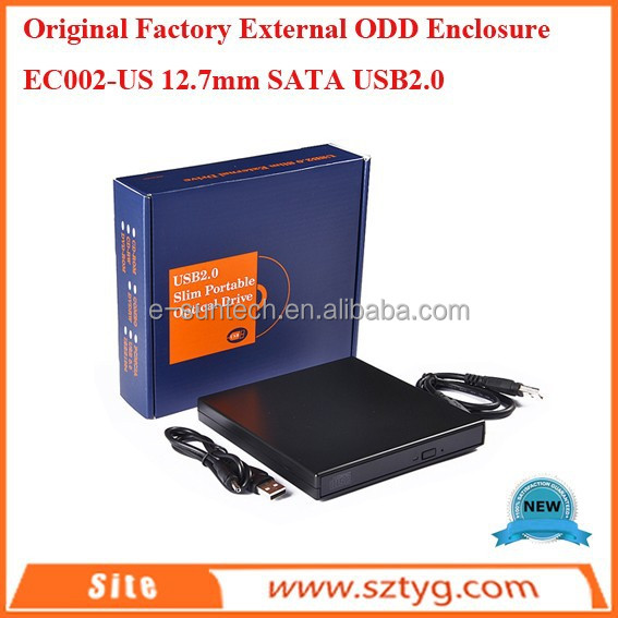 External ODD Housing SATA USB2.0 With Cheap Price