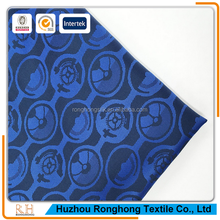 100% polyester fabric wholesale jacquard lining from Ronghong