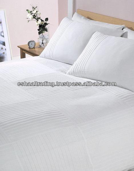 HOTEL QUALITY SHEETS - 100% Cotton Satin T 300 (Super King Size)