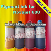 Outdoor inkjet bulk pigment ink for Novajet 702/850/800/1000I/1200I wideformat plotter