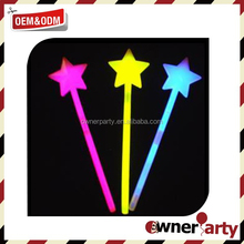 Hot Selling High Quality Star Glow Sticks, glow in the dark stars