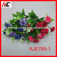 Decorative raw material for artificial polyester flower making