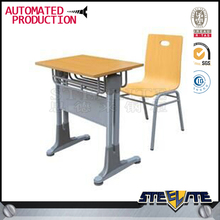 School furniture single desk and chair executive office table design metal workshop table