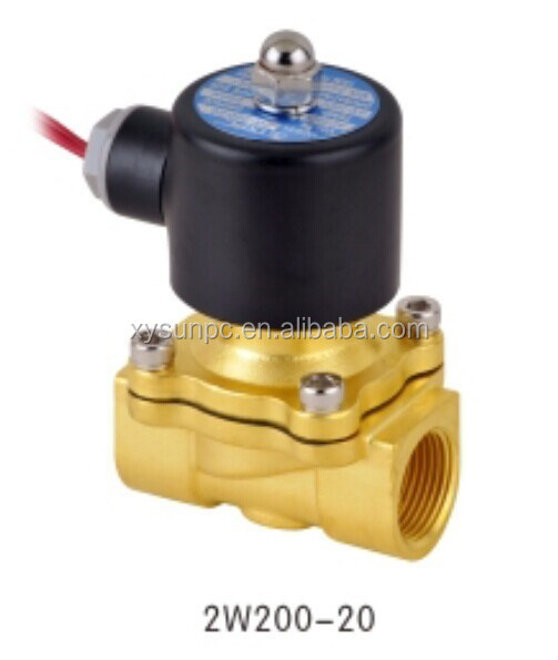 China factory normally colsed 1/2 inch 3/4 inch solenoid valves 1 inch solenoid valve electric control valve