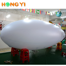High quality advertising display suspension PVC inflatable remote control LED airship