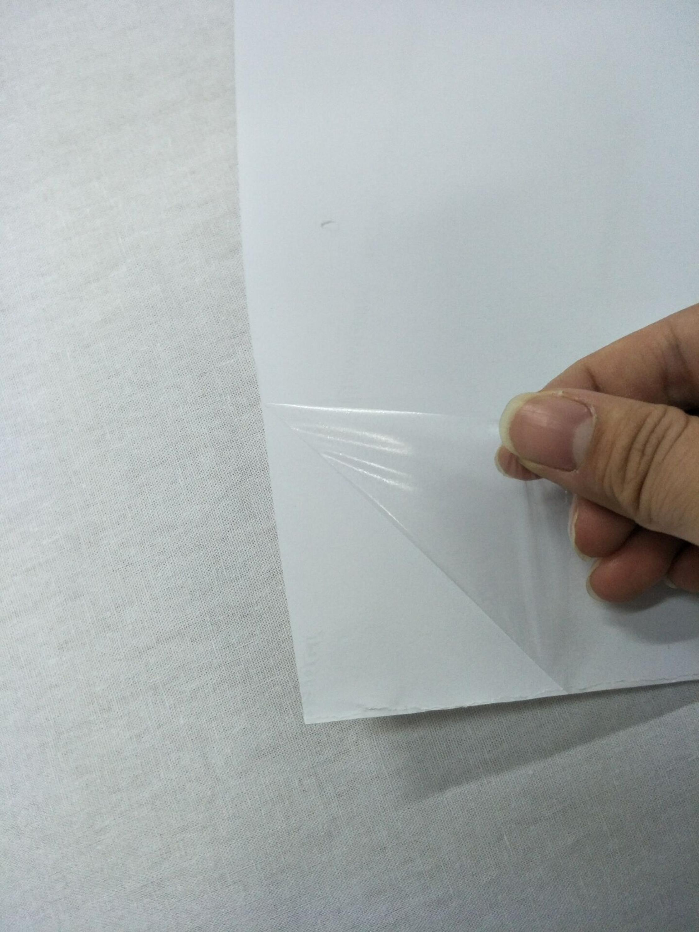 0.44m*30m super thin 15um EAA (Ethylene Acrylic Acid) Hot Melt Adhesive Film