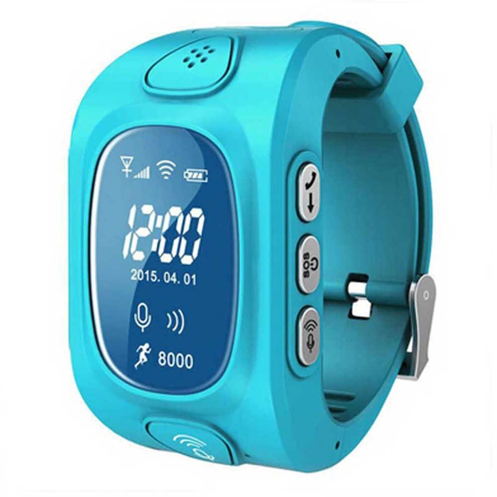 cheap kids boys girls student gps tracker smart watch with GSM SIM Remote monitor gps position sos Call