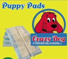 disposable puppy pet training pad with sticker for stick on floor