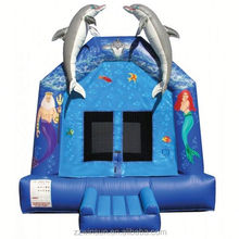 Commercial LITTLE MERMAID INFLATABLE bouncing castle,bouncy castle,jumping castle