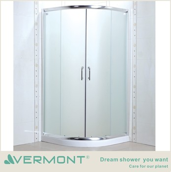 easy installation shower room with 6mm glass