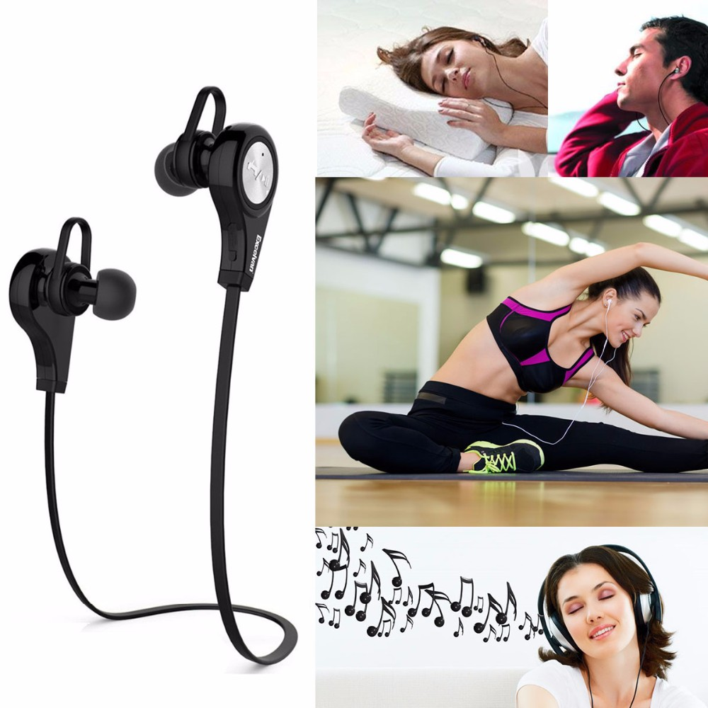 Original Wireless Bluetooth Earphones Sweat-proof Earphones Earbuds Noise Cancelling Stereo Sound Earhook Q9