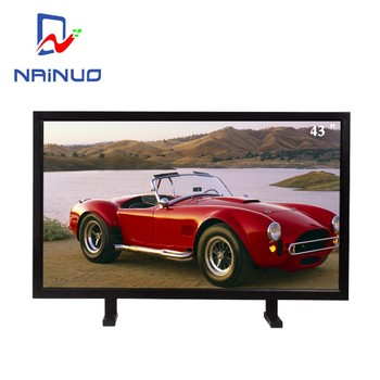 43 inch cold rolled steel industrial cctv led monitor with narrow bezel