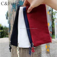 Wholesale custom cute oxford pencil case with zipper closure