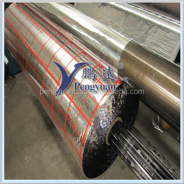 Soft Metallized PET Film to print, PET/PE/VMPET film