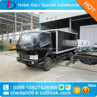 DONGFENG 4*2 95hp fiberglass mini refrigerated van