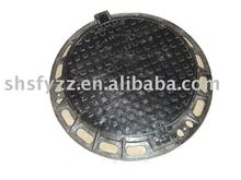 Ductile Iron EN124 Locking Manhole Cover and Frame D400