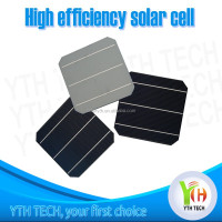 2014 cheap price 156x156 3 bus bars 4.6W high efficiency Monocrystalline Solar Cells on stock