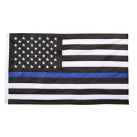 Promotional Thin Blue Line United States Flag