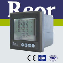 ISO certified R3000 Series small dimension AC 5A digital three-phase remote control ammeter/current meter