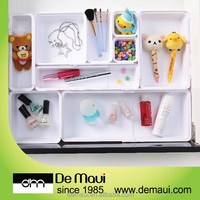 New Design Cabinet Storage Plastic Adjustable Drawer Box Organizer