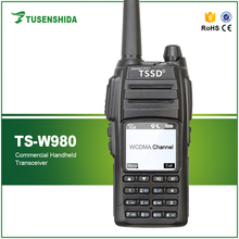 WCDMA GSM Walkie Talkie WIFI Smart Mobile Phone Radio LCD Display TSSD TS-W980 with GPS tracking