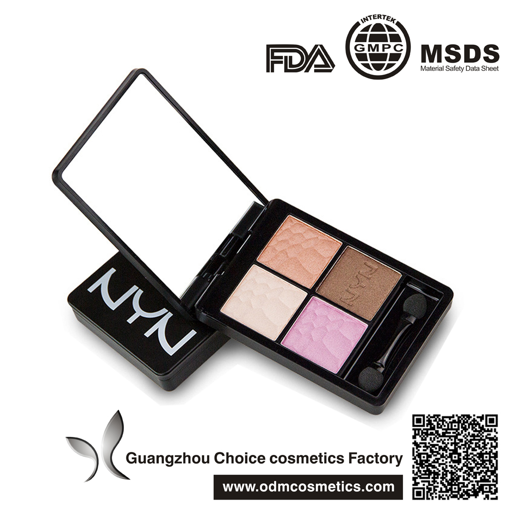 4 colors smokey <strong>eyes</strong> with the Brown Sugar <strong>Eye</strong> Shadow Palette