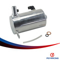 "PQY RACING-19mm 3/4"" BARB ALUMINIUM OIL CATCH CAN BREATHER TANK RESERVOIR PQY-TK3201"