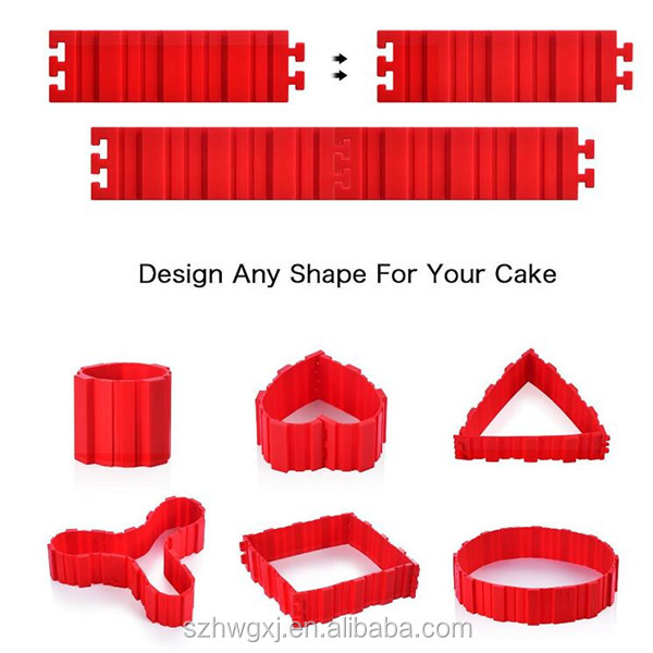 Flexible Bake Snake Magic Silicone DIY Cake Baking Molds