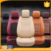 Wholesale custom fashion fancy Luxury design universal leather car seat cover