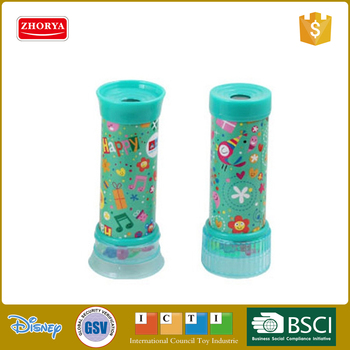 zhorya high quality fancy printed kids classic kaleidoscope toy