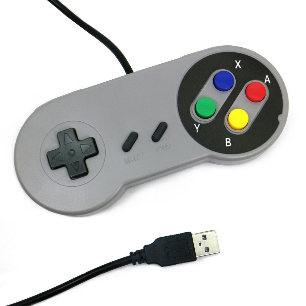 Classic Game Controller For Nintendo, snes usb gamepad
