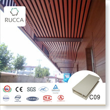 Hot Building Materials! WPC/ Wood Plastic Composite False Ceiling Decoration for Interior decoration 40*100mm