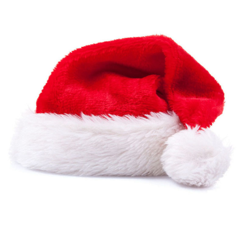 HD1029 Santa Claus Father Xmas Cotton Cap Christmas Gift