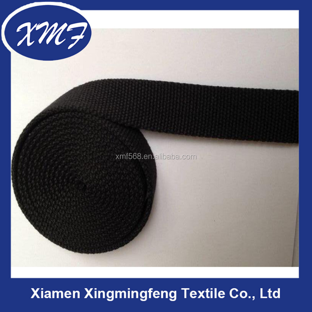 40mm Oeko-Tex certified woven stone washed cotton webbing tape