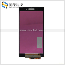 Digitizer for sony Z1 with 2016 hot selling quality, LCD with frame for Sony Z1 xperia