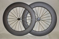 25mm width rim DENGFU carbon wheels clincher road bicycle carbon 88mm wheels