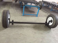 All size rubber torsion axle half axle for camper trailer part