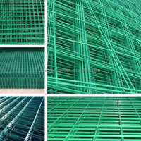 China Alibaba hot sale 1x1 / 2x2 / 3x3 galvanized / PVC coated welded wire mesh