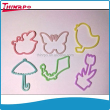 Hot selling silicone hair rubber bands silicon silly bands