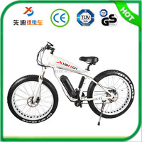 "Factory selling aluminum alloy 26"" inch large tire middle motor ebike/electric bike/ bicycle"
