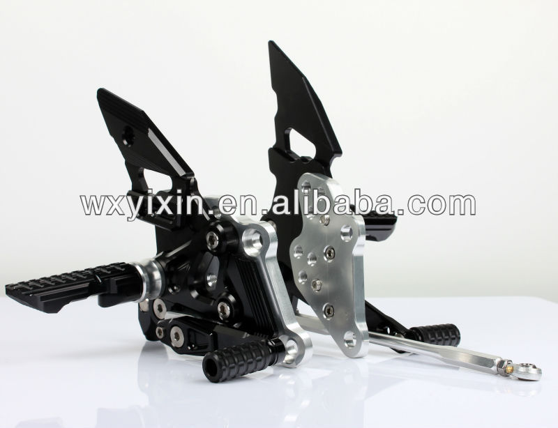 NEW CNC billet aluminium alloy rear footrest foot rest rearset rear sets for kawasaki ninja250