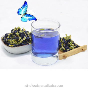 die dou hua bulk herbals tea organic dried blue butterfly pea flower tea