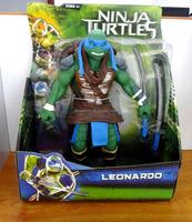 Teenage Mutant Ninja Turtles Movie Deluxe Leonardo Action Figure,28*15cm