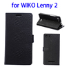 Alibaba Trade Assurance Flip Leather Phone Case for Wiko Lenny 2