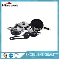 Brand new enameled cast iron cookware made in China HS-CJS006