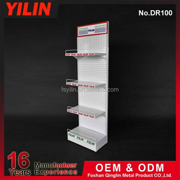 Reasonable Price Supermarket Metallic Paper Display Stand