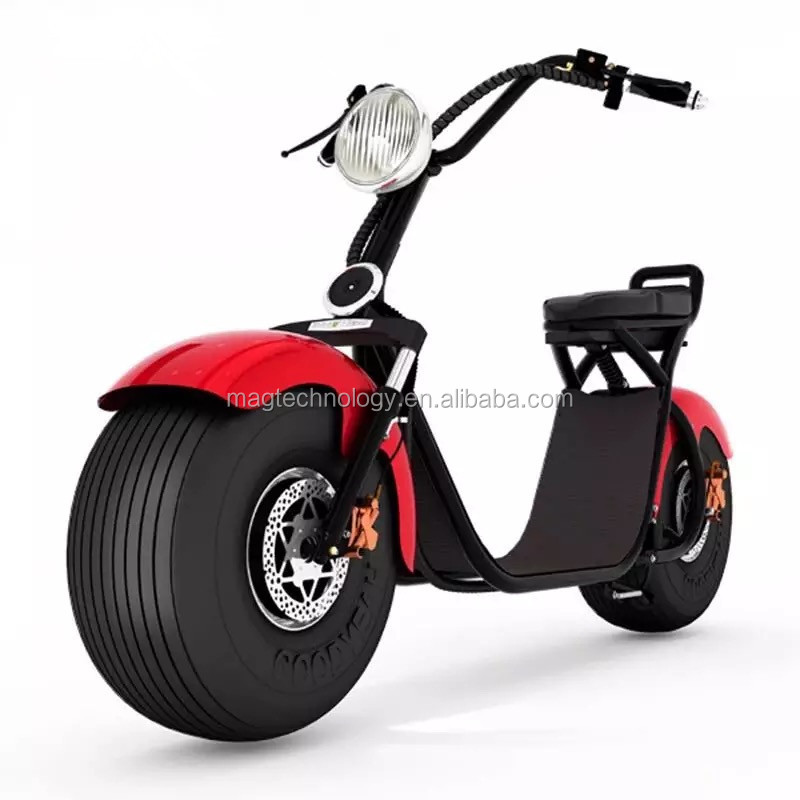Christmas Gift electric motorcycle with brake light turn signal electric scooter /mobility scooter/ electric tricycle 60V 1000W