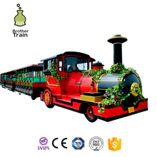 Amusement Euqipment electric enlighten trackless park train